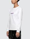 X-Girl Noisy Message Long Sleeve Regular T-Shirt
