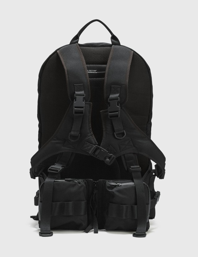 Tobias Birk Nielsen Tech Backpack With Front Bags