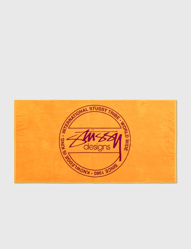 Stussy Stussy Dot Jacquard Towel Orange Unisex