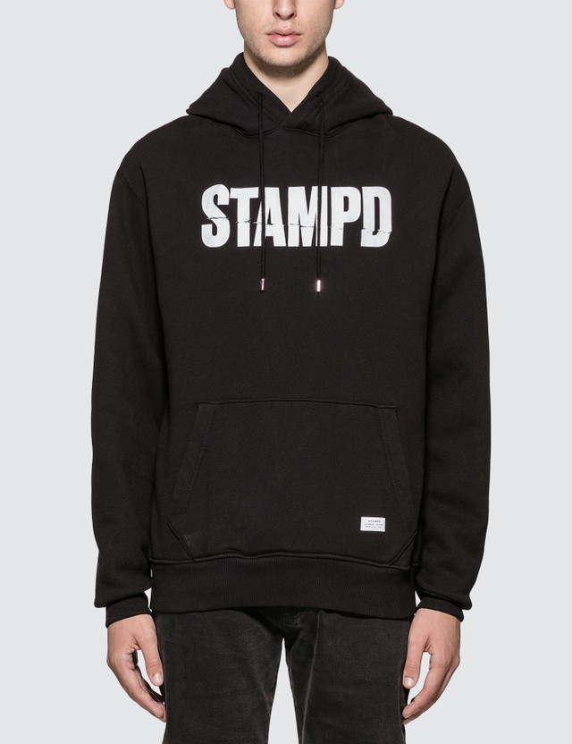Stampd Split Hoody Black Men