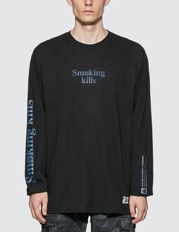 #FR2 #FR2 X One Piece Action Smoker Long Sleeve T-shirt