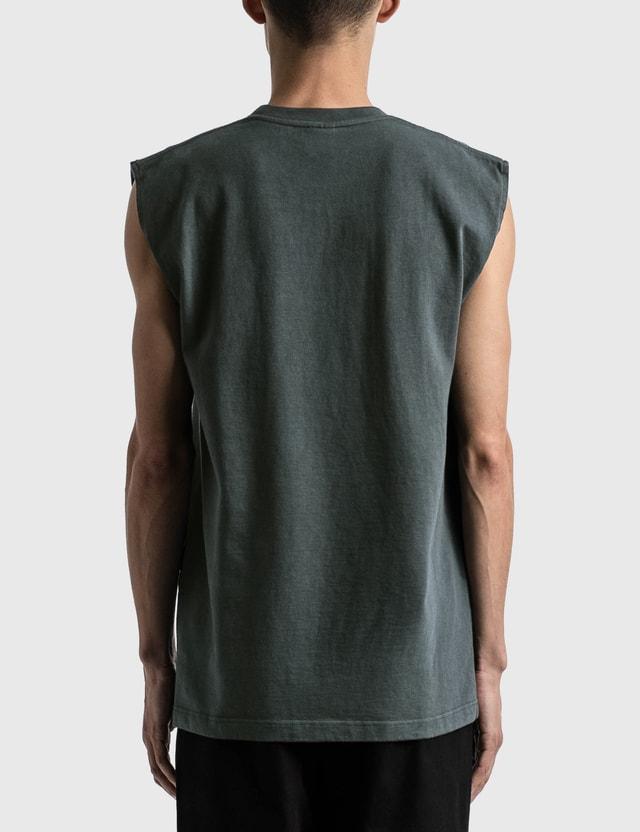 GR10K Utility Sleeveless T-shirt Antracite Men