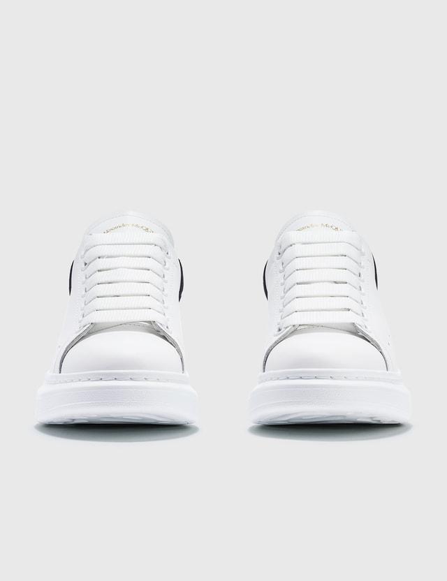 Alexander McQueen Oversized Sneakers White/black Women