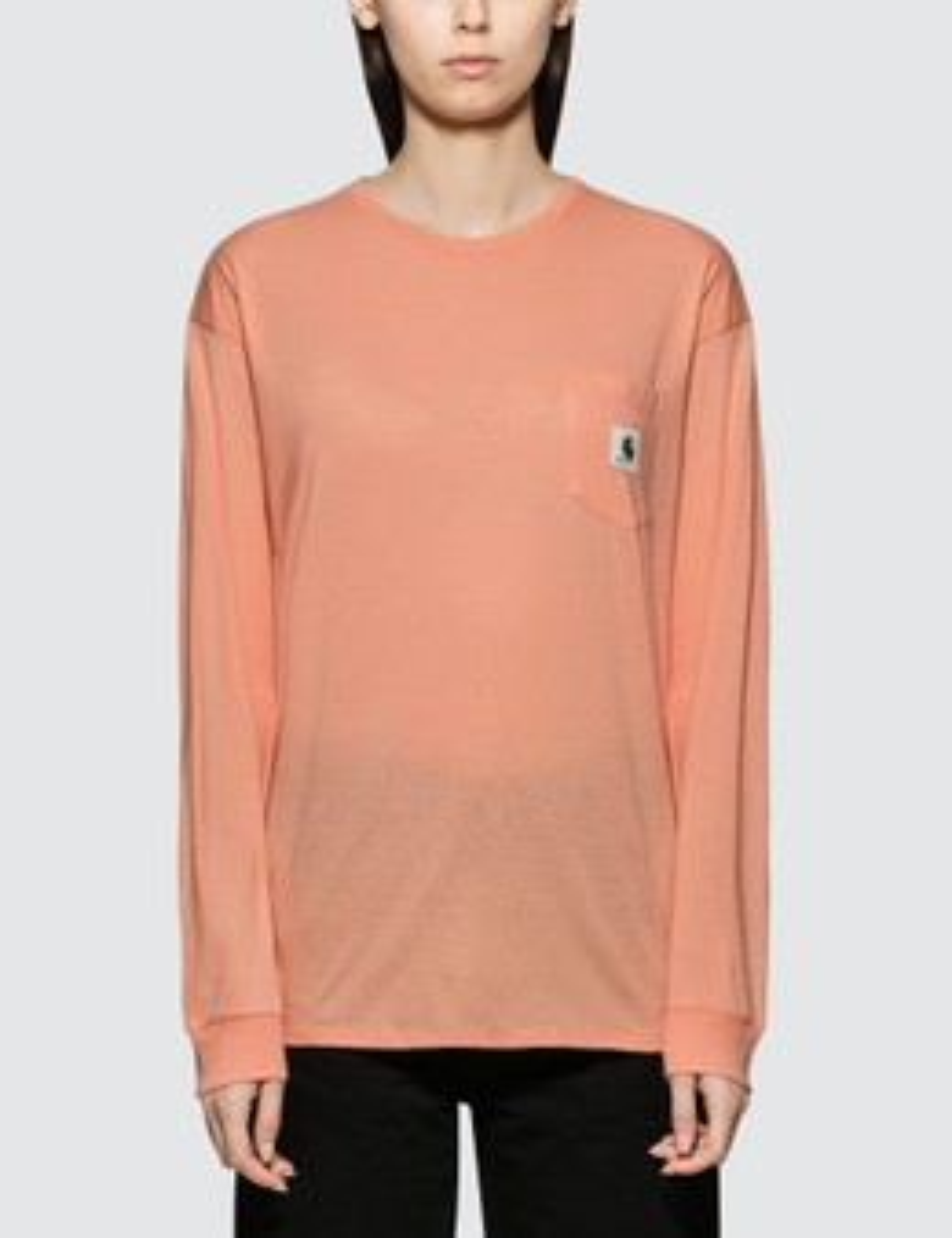 CARHARTT   Carhartt Work In Progress Pocket Long Sleeve T-shirt   Goxip