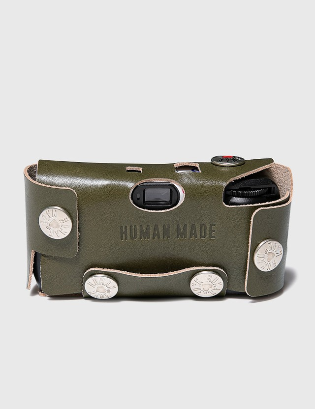 Human Made Leather Camera Case #F