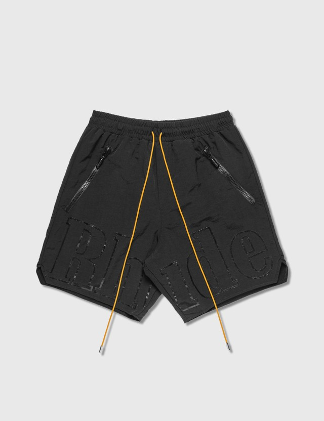 Rhude Oversized Logo Shorts