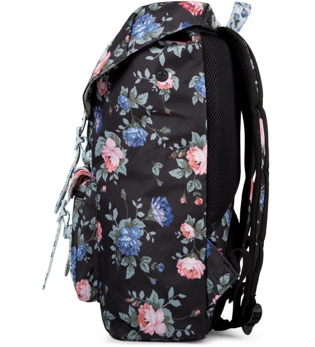 a7351048b641 Herschel Supply Co. Black Floral Pink Floral Blue Floral Little America Mid-