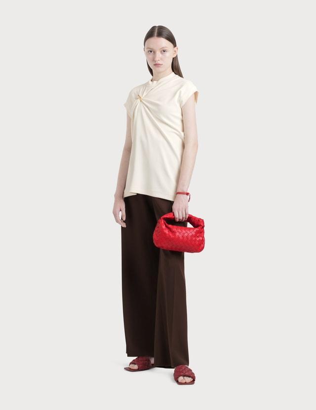 Bottega Veneta Sleeveless Top With Metal Decr