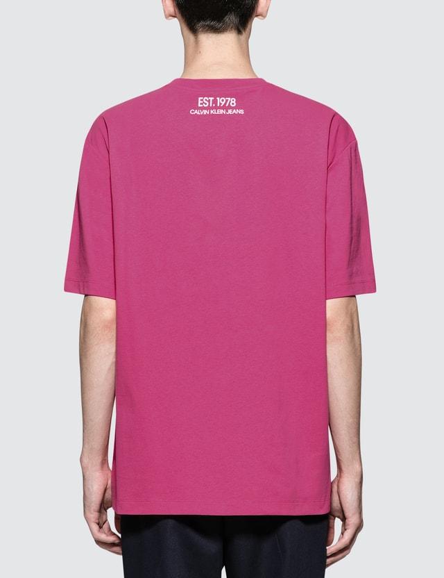 CALVIN KLEIN JEANS EST.1978 Icon Print S/S T-Shirt