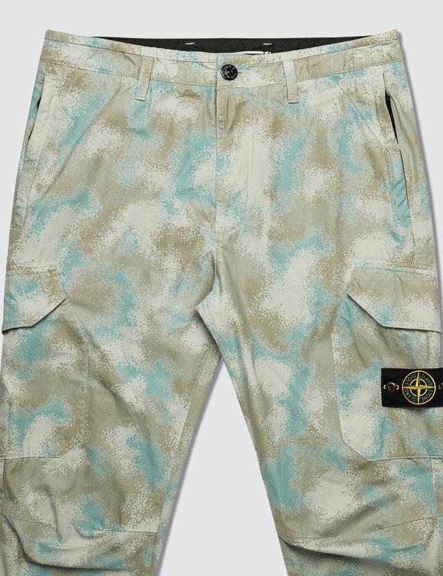 Stone Island Camo Devore Cargo Pants