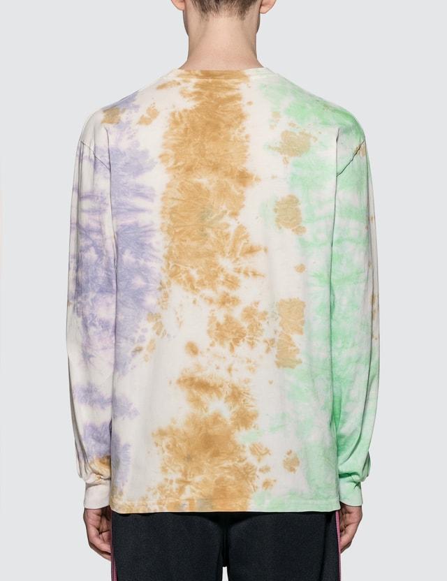 Aries Ripple Tie Dye Long Sleeve T-Shirt