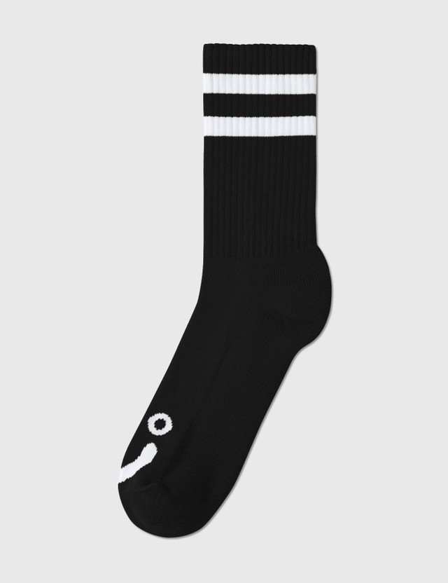Polar Skate Co. Happy Sad Socks Black  Men