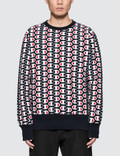 Champion Reverse Weave All Over Print Sweatshirt Picture