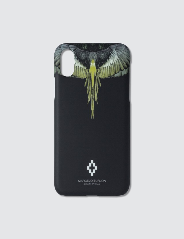 Marcelo Burlon Yellow Wings Iphone X Case