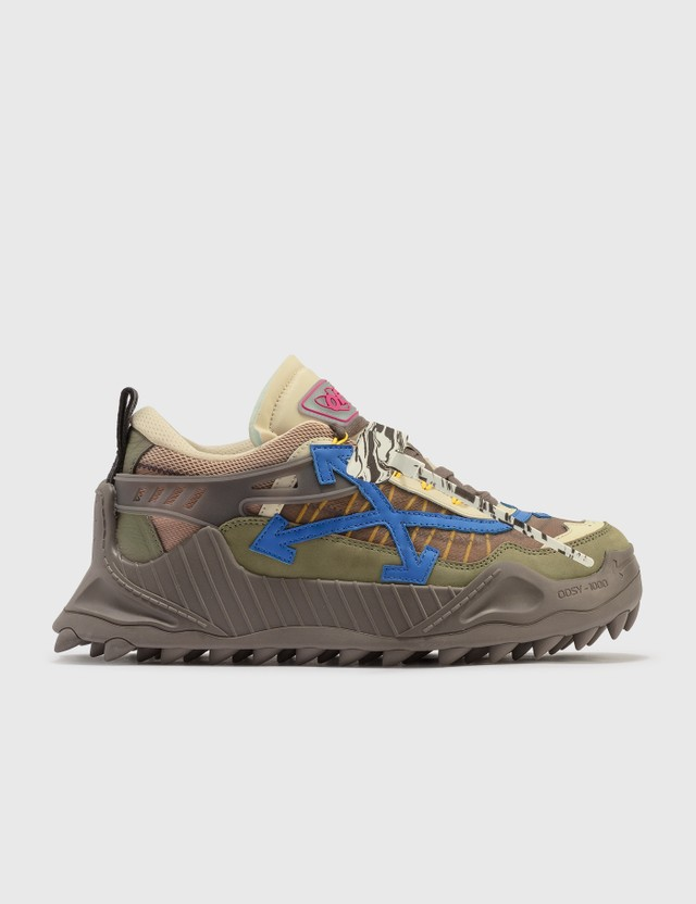 Off-White Odsy-1000 Sneakers Brown Men