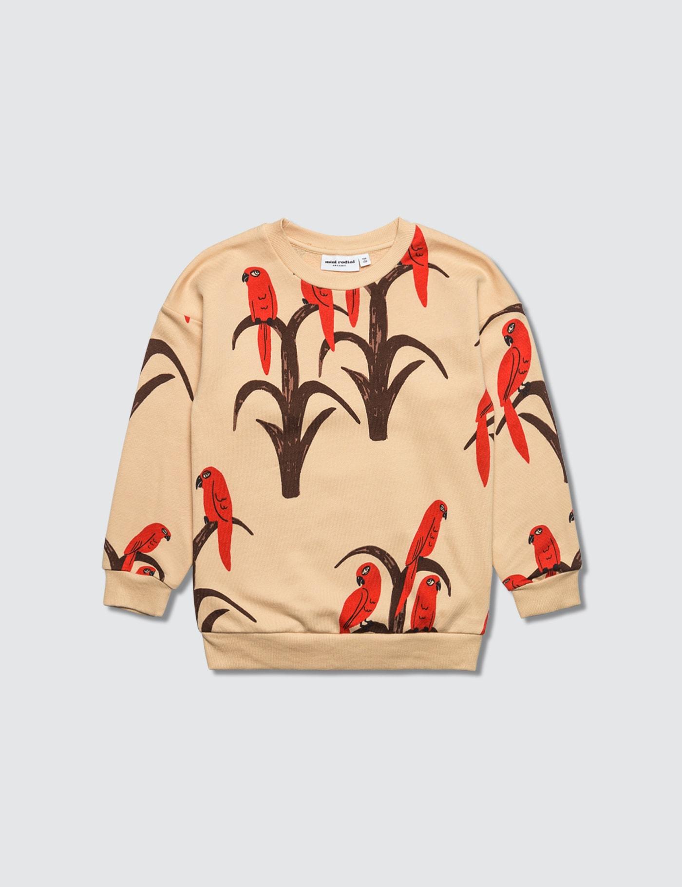 Allover Parrot Sweatshirt