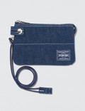 Head Porter Denim Zip Wallet Picture