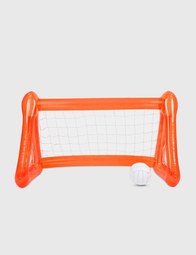Sunnylife Inflatable Goalie – Neon Pomelo Orange Life