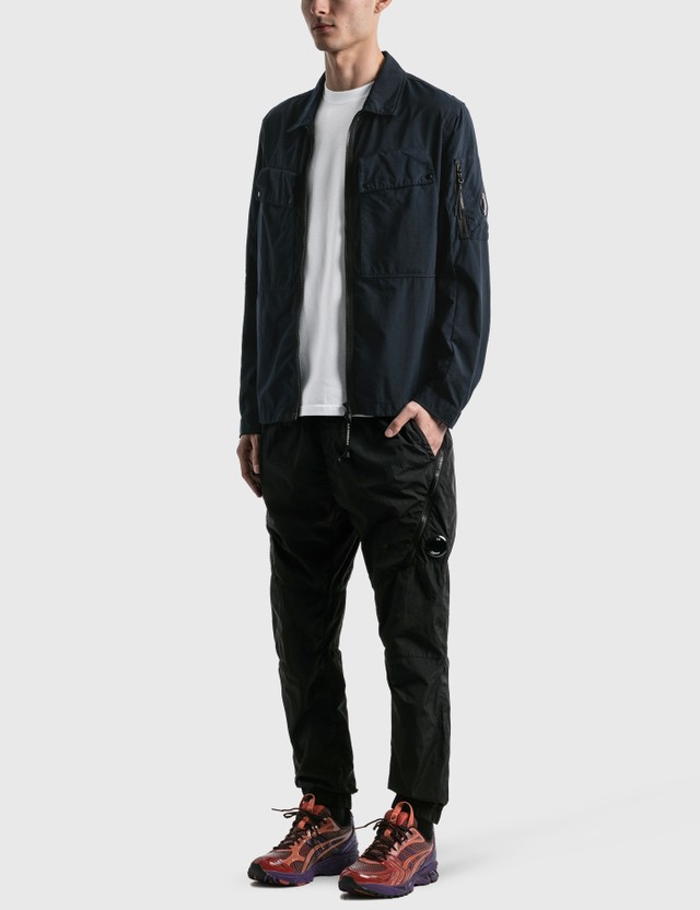 CP Company Pockets Overshirt Total Eclipse Men