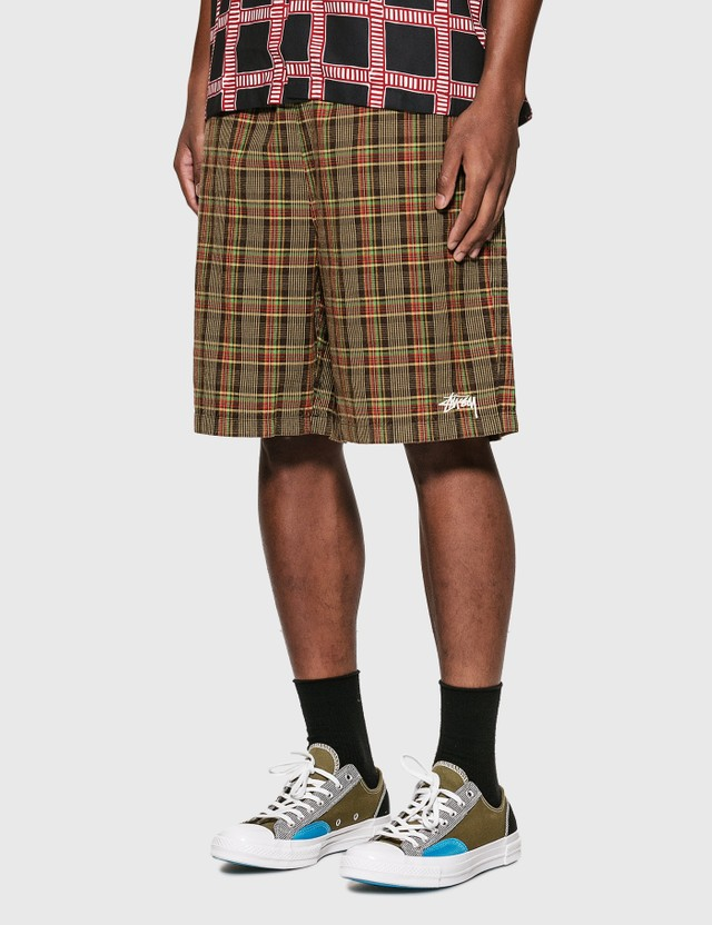Stussy Plaid Mountain Shorts