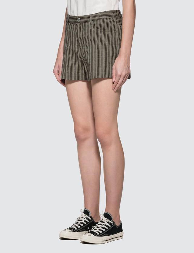 A.P.C. High Standard Shorts Beige Women