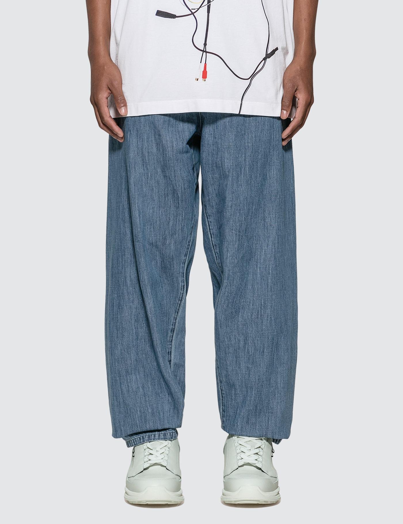 Pyjama Denim Trousers