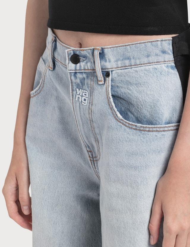Alexander Wang.T Pack Mix Hybrid Cargo Jeans