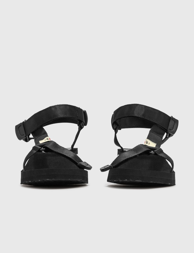 Maison Mihara Yasuhiro Sneaker Heel Belted Sandal Black Men