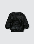 NUNUNU Faux Fur Sweatshirt Picture