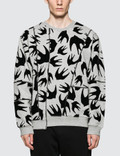 McQ Alexander McQueen Cutup Coverlock Sweatshirt Picture