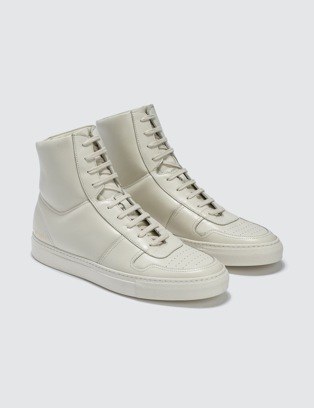 Common Projects Bball High In Leather