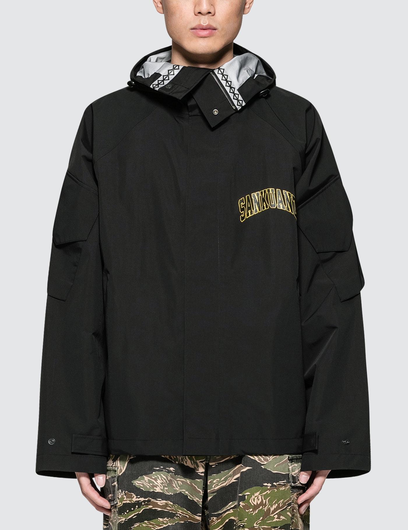 Sankuanz Jacket In Black