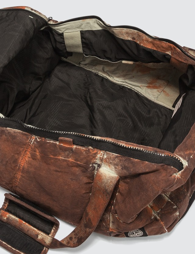 Stone Island 913PD Paintball Camo Cotton/Cordura® Duffle Bag