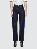 Calvin Klein Jeans High Rise Straight Side Stripe
