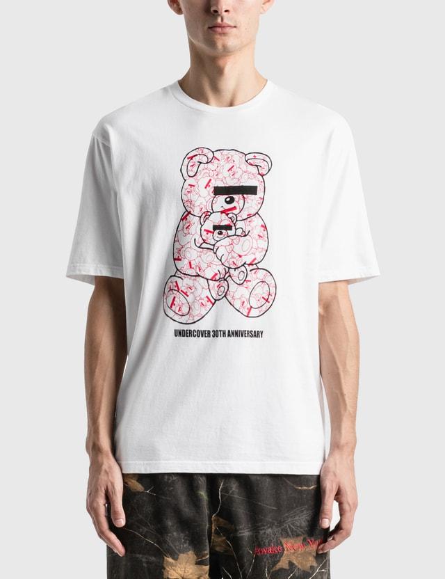 Undercover U Bear Bear 30th Anniversary 티셔츠 White Unisex