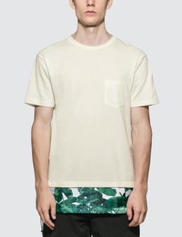 SOPHNET. Panel Layered Pocket T-Shirt