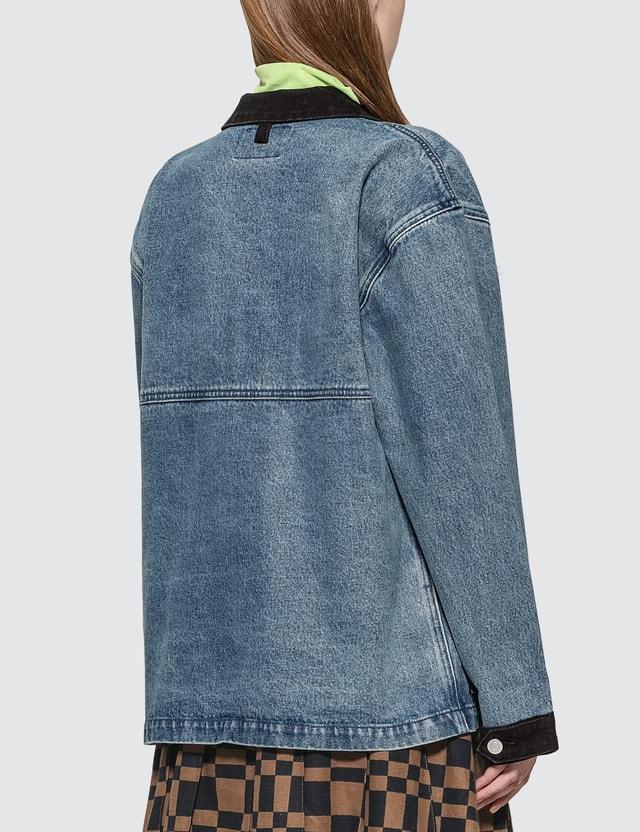 Stussy Mallard Indigo Barn Jacket