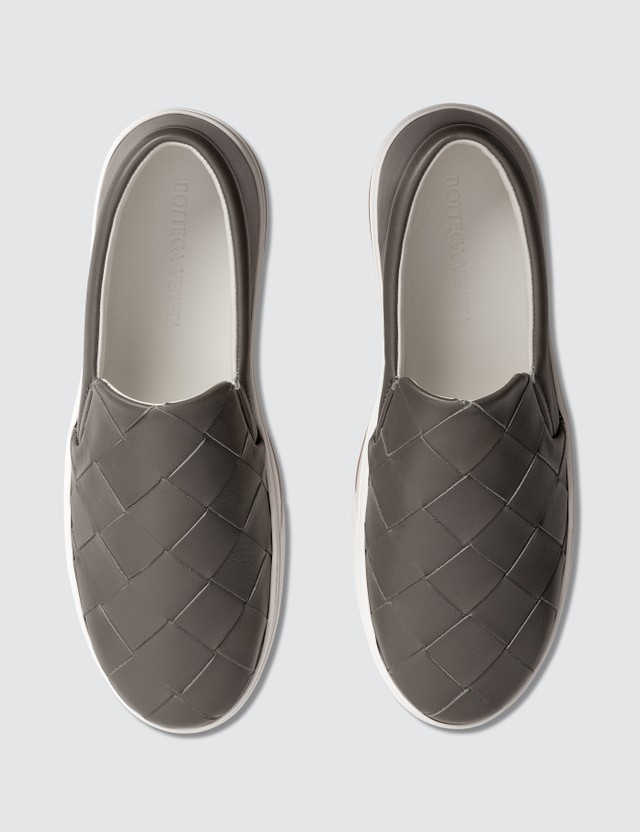Bottega Veneta Classic Weave Slip On Sneakers