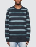 Acne Studios Oversized Stripe Sweatshirt Picture