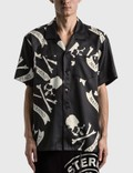 Mastermind Japan Tropical Skull Silk Short Sleeve Shirt 사진