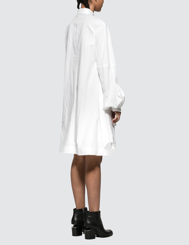 JW Anderson Buttondown Puff Sleeve Dress