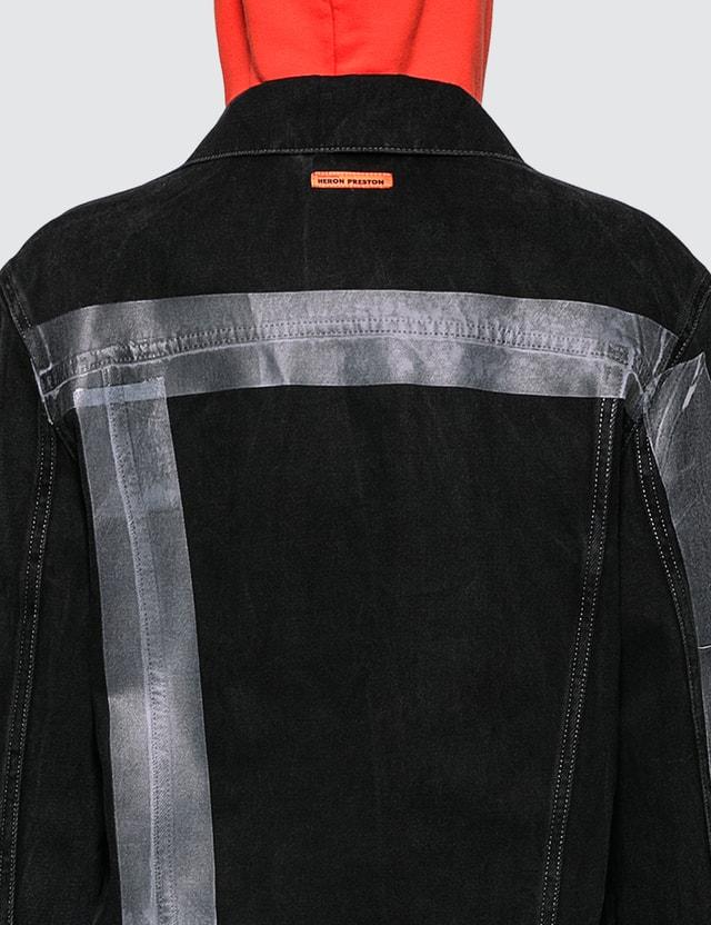 Heron Preston Tape Denim Jacket