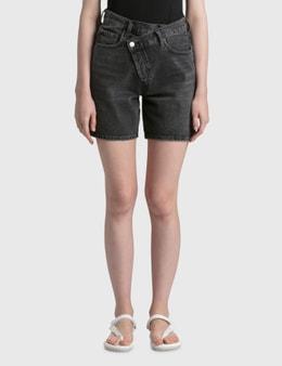 AGOLDE Criss Cross Shorts