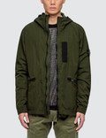 Stone Island Nylon Metal Flock Hooded Jacket Picture
