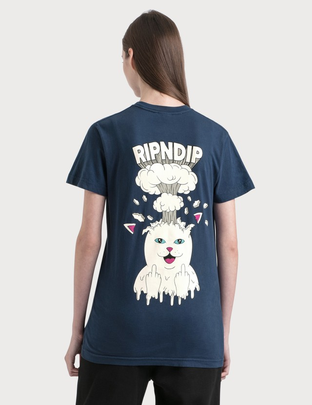 RIPNDIP Mind Blown T-Shirt Navy Women