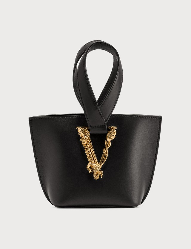Versace Virtus Bucket Bag