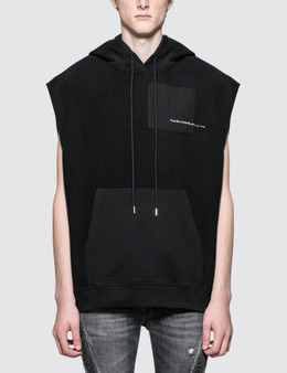 Marcelo Burlon Ali Ring Sleeveless Hoodie