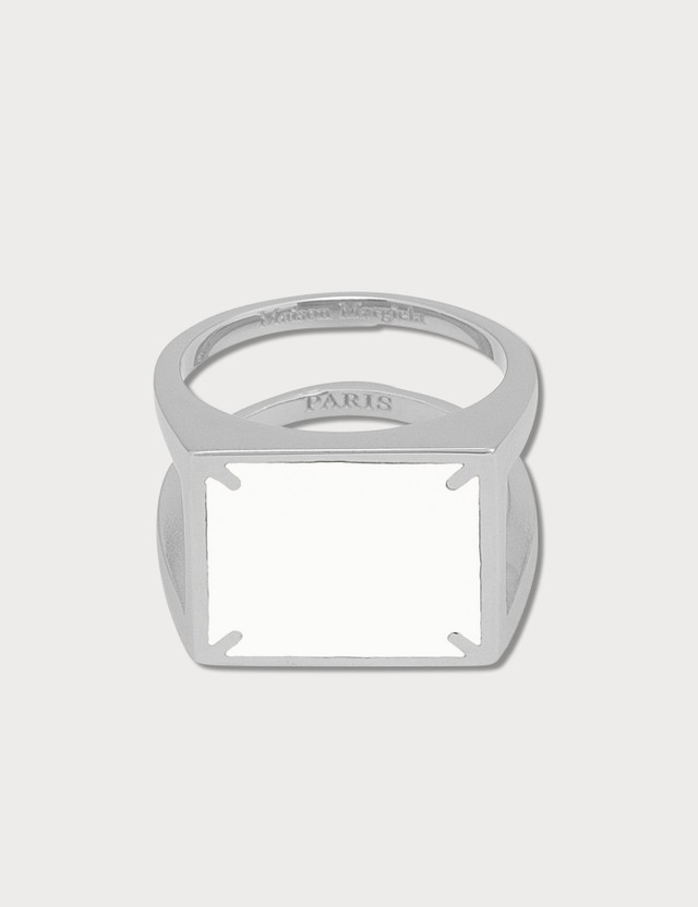 Maison Margiela 4 Stitches Silver Ring