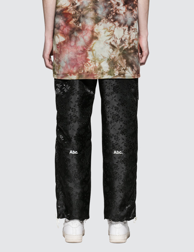 Advisory Board Crystals Rose Satin Jacquard Pant