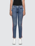 Alexander McQueen Fit Denim Trousers Picutre